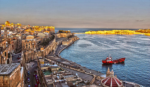 Malta for lace