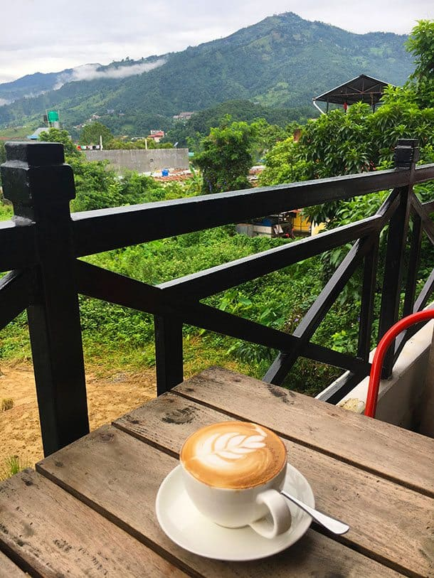 Pokhara coffee - the real deal