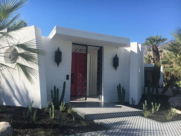 Mid century architecture Palm Springs