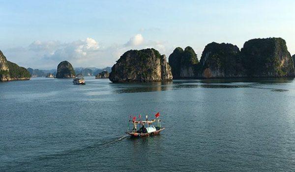View over Ha Long Bay