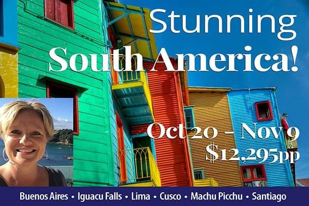 South America tour NZ