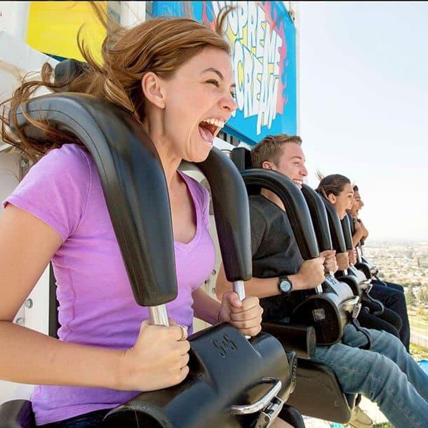 Knotts Berry Farm supreme scream ride