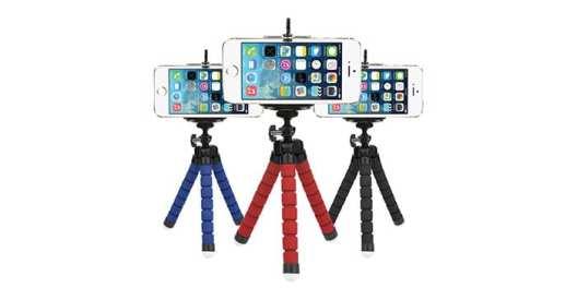 Smartphone tripods