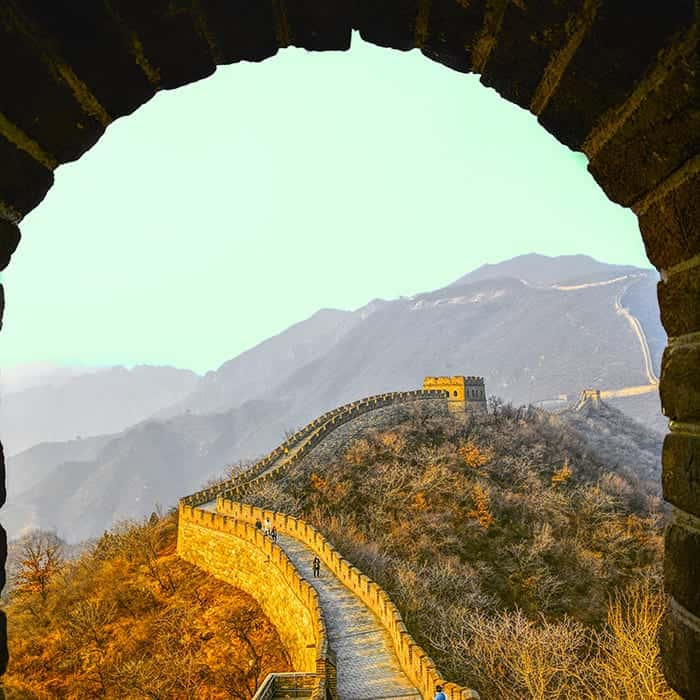 Visit the Great Wall of China