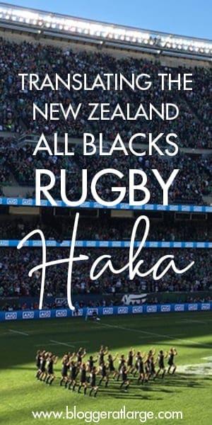 Rugby haka translated
