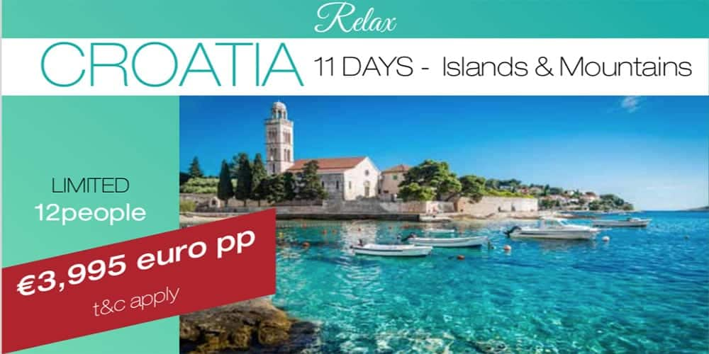 Cruise in Croatia