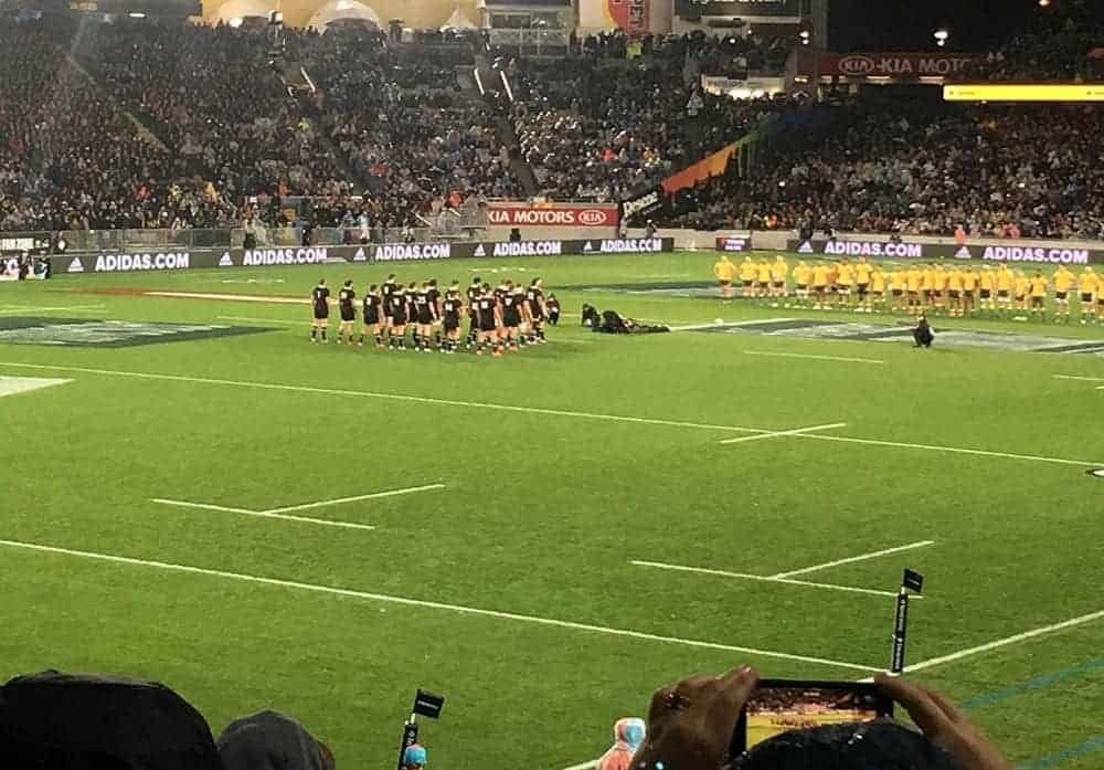 All Blacks rugby haka