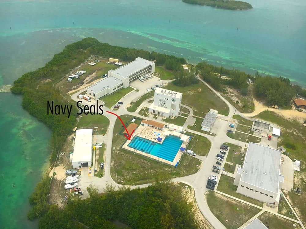 Navy seals training in Key West