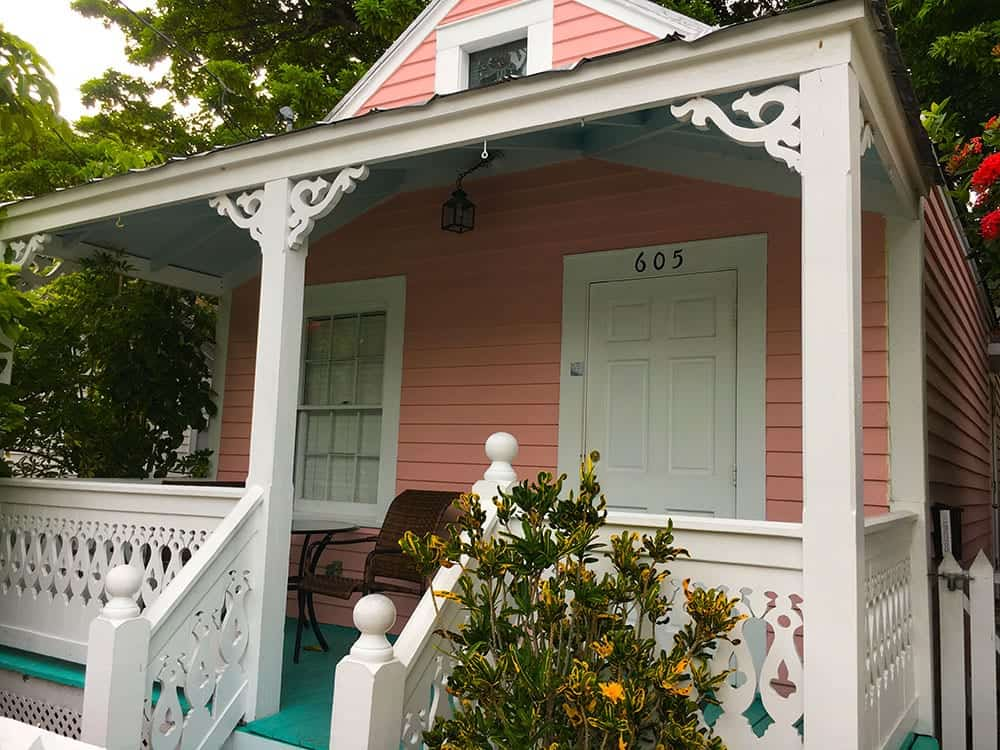 Pink house in Key West