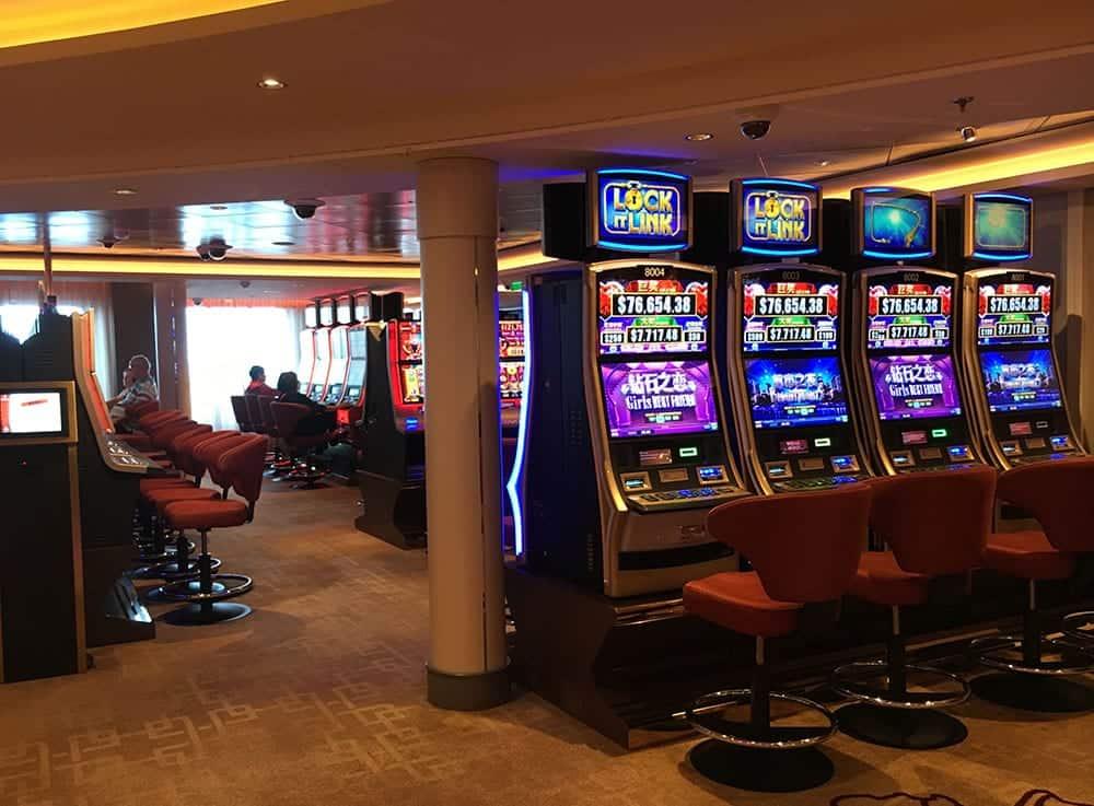 Casino on Dream cruise
