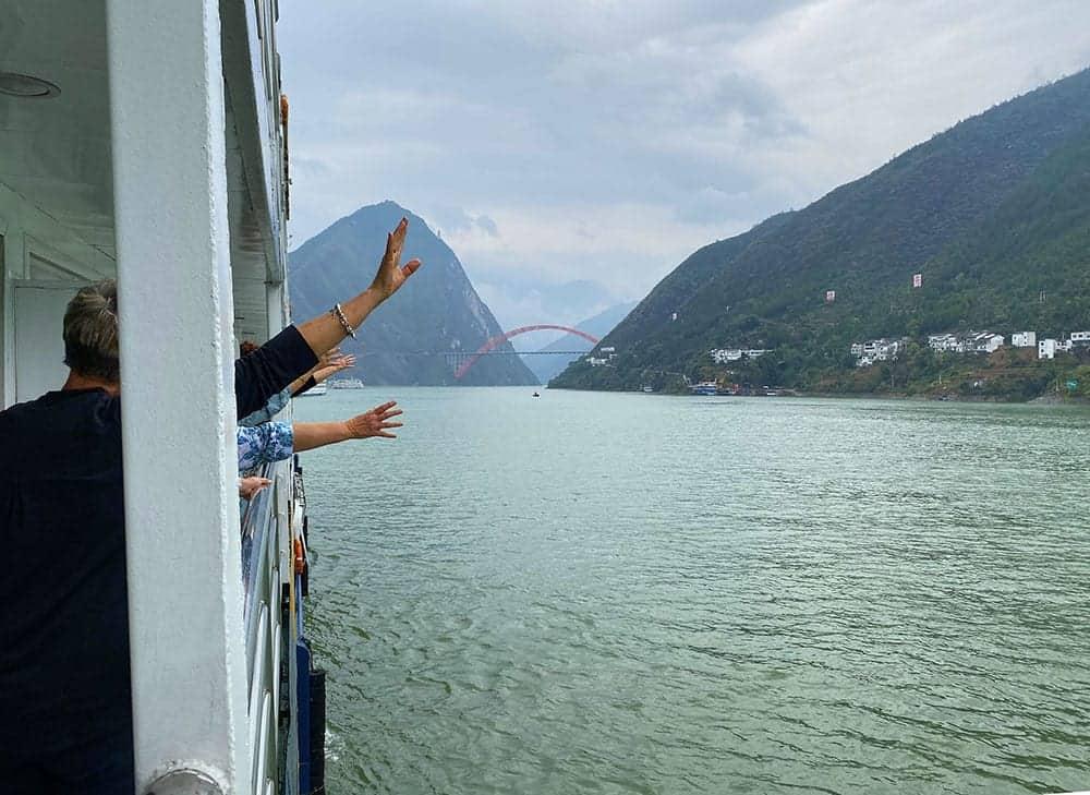 A bridge across the Yangtze river