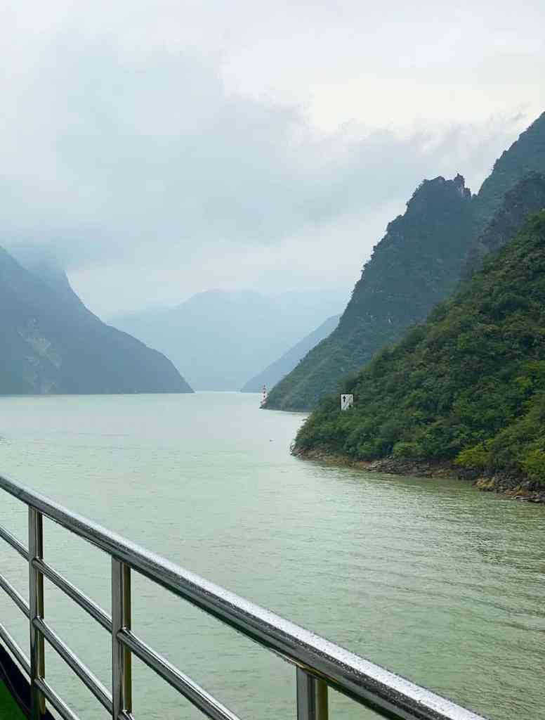 Yangtze River in mist