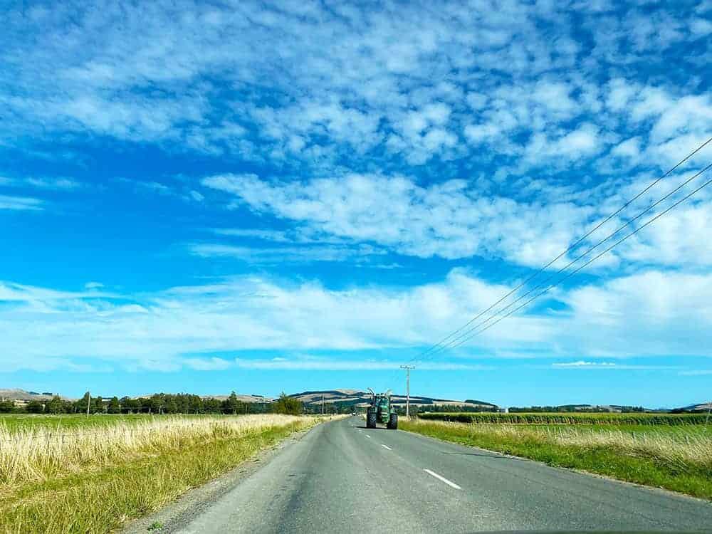 Big sky in New Zealand