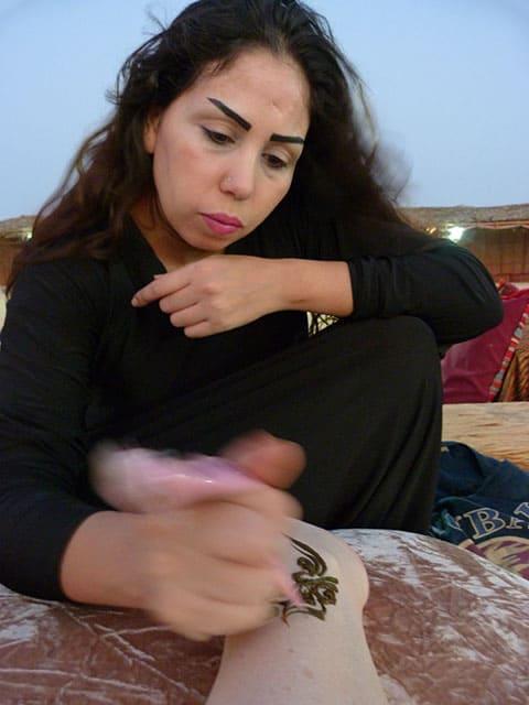 Abu Dhabi henna tattoo