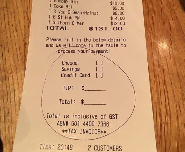 Should I tip