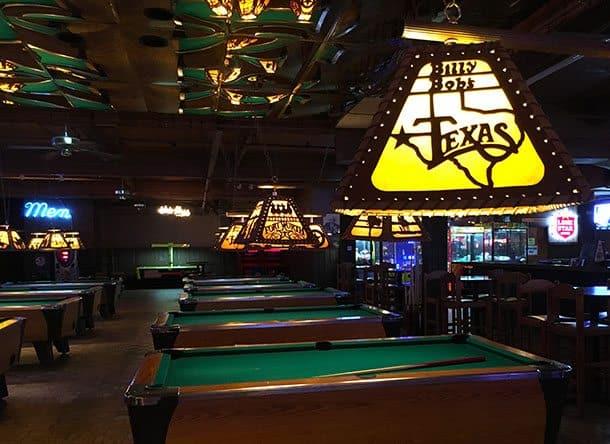 Billy Bob's Texas pool
