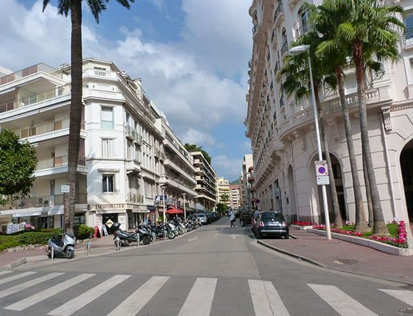 Cannes street view