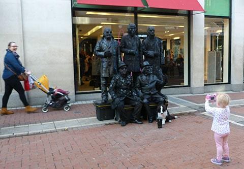 Grafton Street buskers Dublin