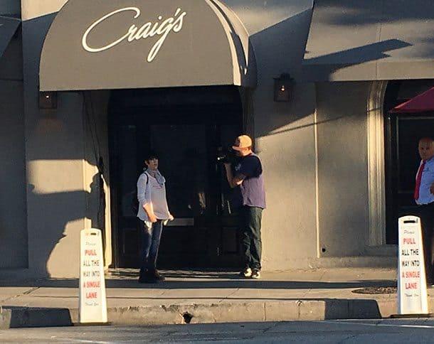Craig's paparazzi LA
