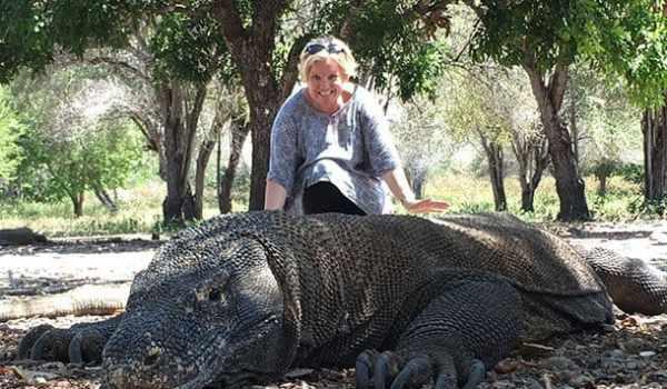 Komodo dragon pic