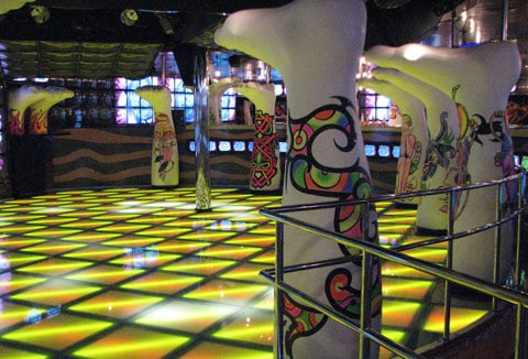 Carnival Liberty Disco floor
