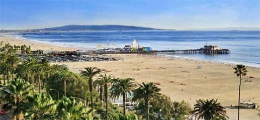 Start the Pacific Coast Highway road trip in Santa Monica