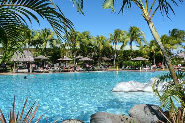 Outrigger Fiji pool