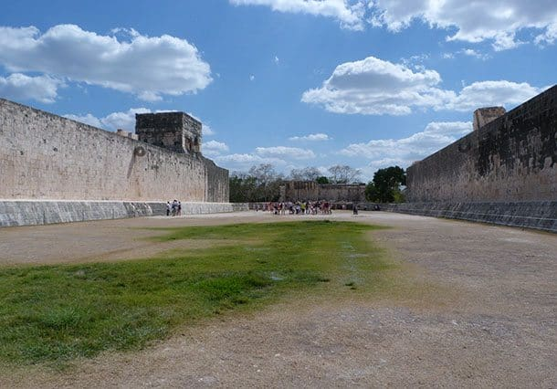 Mesoamerica ball court