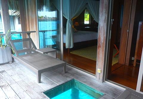 Hilton Bora Bora bungalow