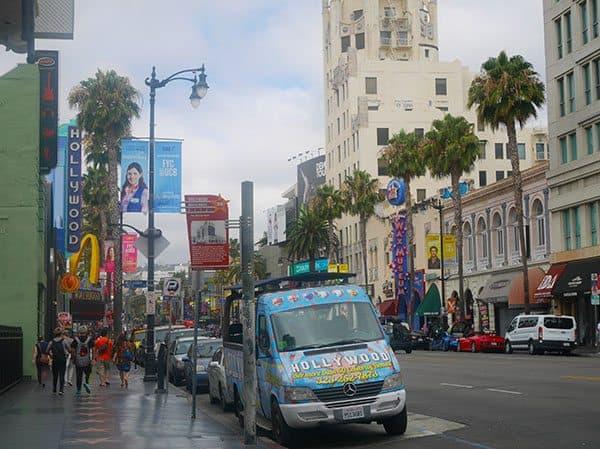 Hollywood star walk