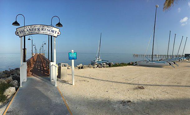 Islander resort jetty