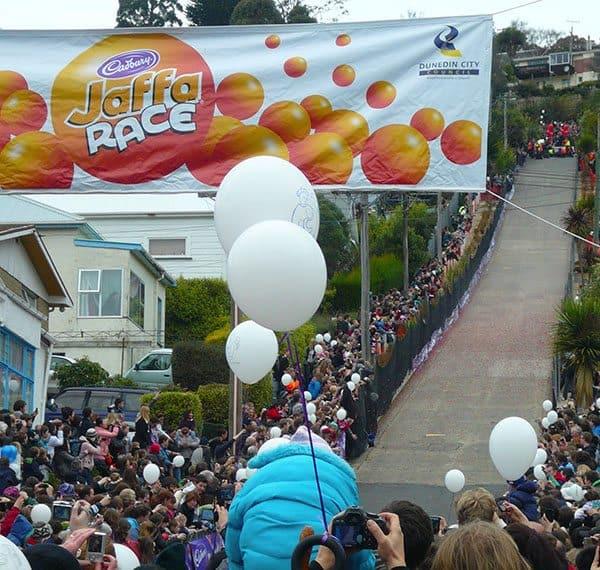 Dunedin Cadbury jaffa roll