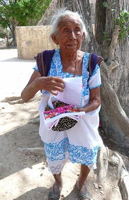 Mayan lady