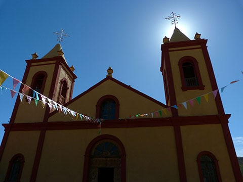 Mission church, Mexico