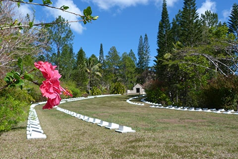 New Zealand WWII cemetery New Caledonia