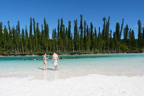 Natural pool Isle of Pines