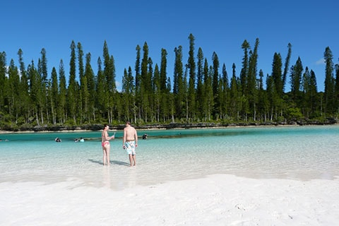 Natural pool Isle of Pines