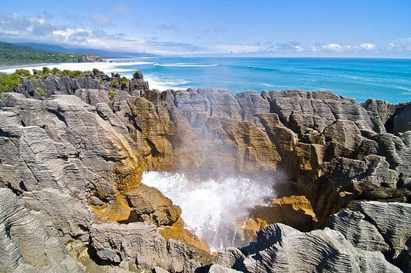 Pancake rocks NZ