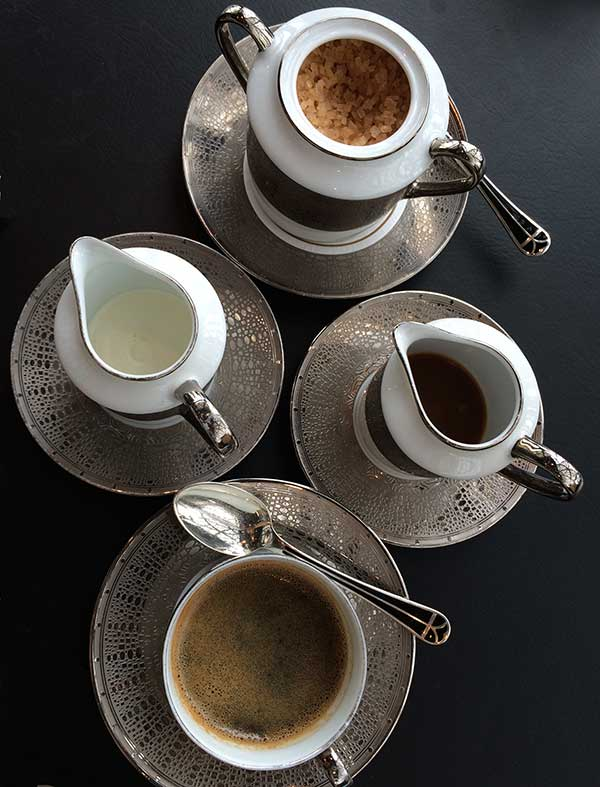 Robuchon Macau coffee