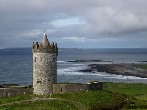 Wild Atlantic Way castle