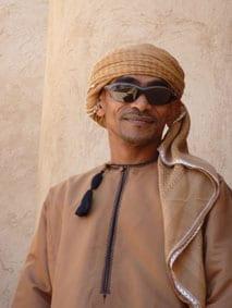 Omani driver