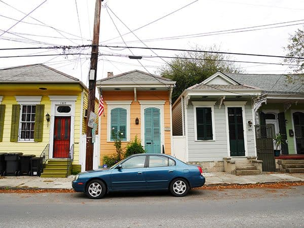 Shotgun house New Orleans
