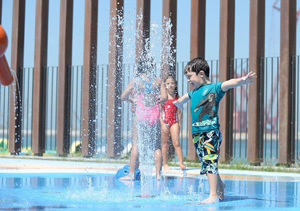Splash pad Dubai