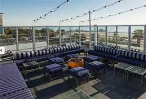 Shangri La bar LA