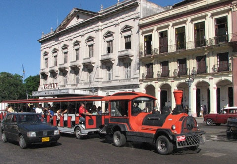 Train Havana Cuba