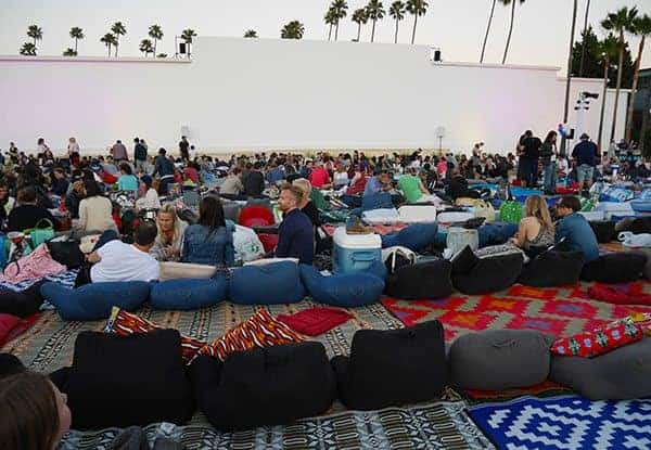 Hollywood Forever outdoor movie
