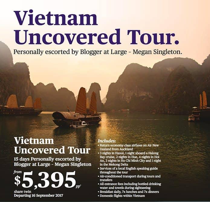 Escorted tour of vietnam