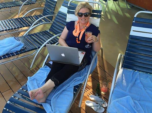 Vision of the Seas blogging