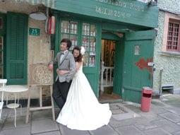Western Chinese bride