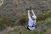 Zip lining Catalina